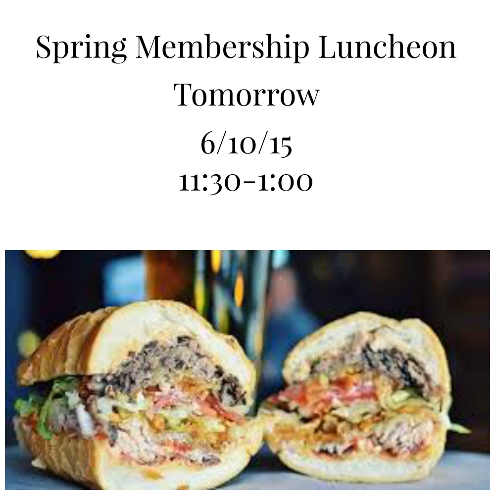 spring 2015 luncheon